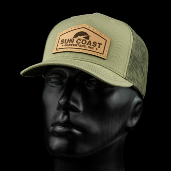 SunCoast Diesel - NEW! SUNCOAST LEATHER INTABULATOR PATCH SNAPBACK