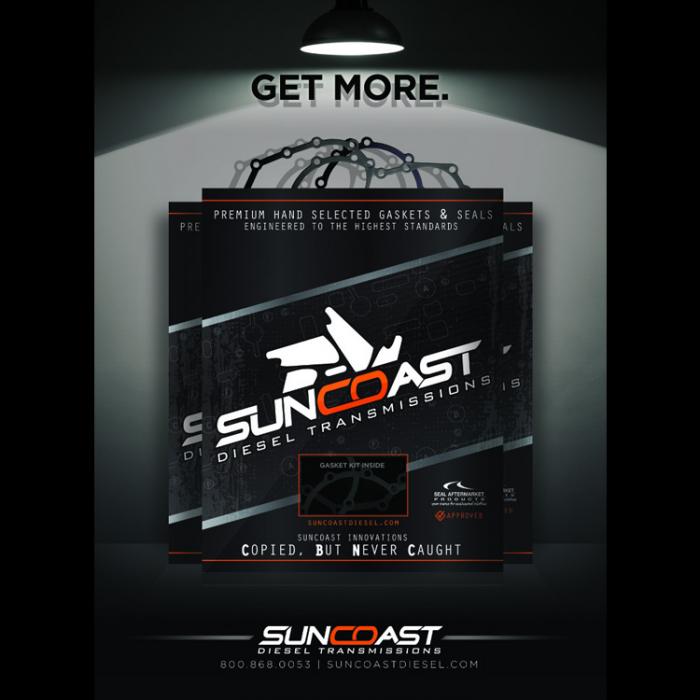 SunCoast Diesel - E4OD/4R100 GASKET SET