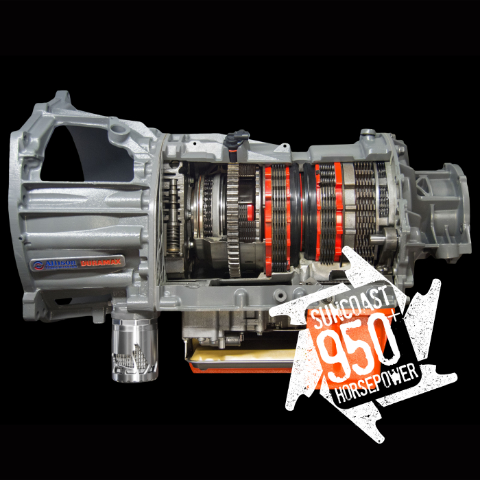 SunCoast Diesel - CATEGORY 4 SUNCOAST 950+ HP CUSTOM ALLISON TRANSMISSION WITH CONVERTER