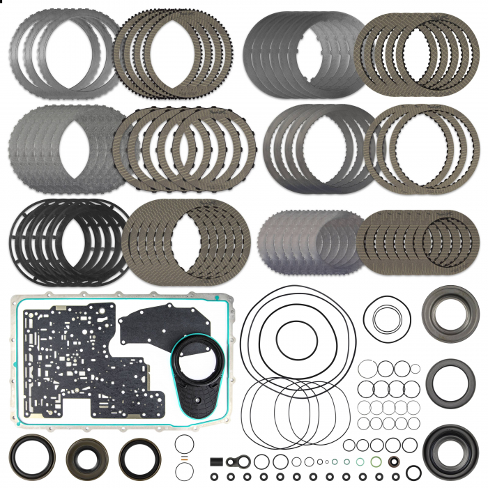 SUNCOAST CATEGORY 1 10R80 REBUILD KIT WITH TORQUE CONVERTER