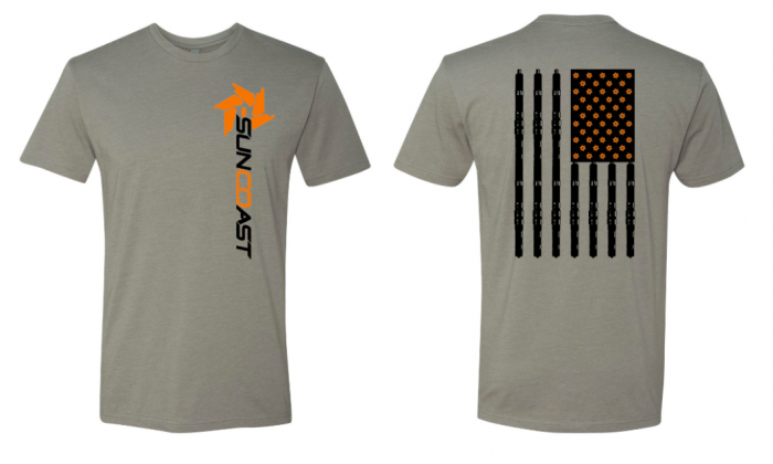 SunCoast Diesel - NEW! 2020 FLAG FADE SHIRT
