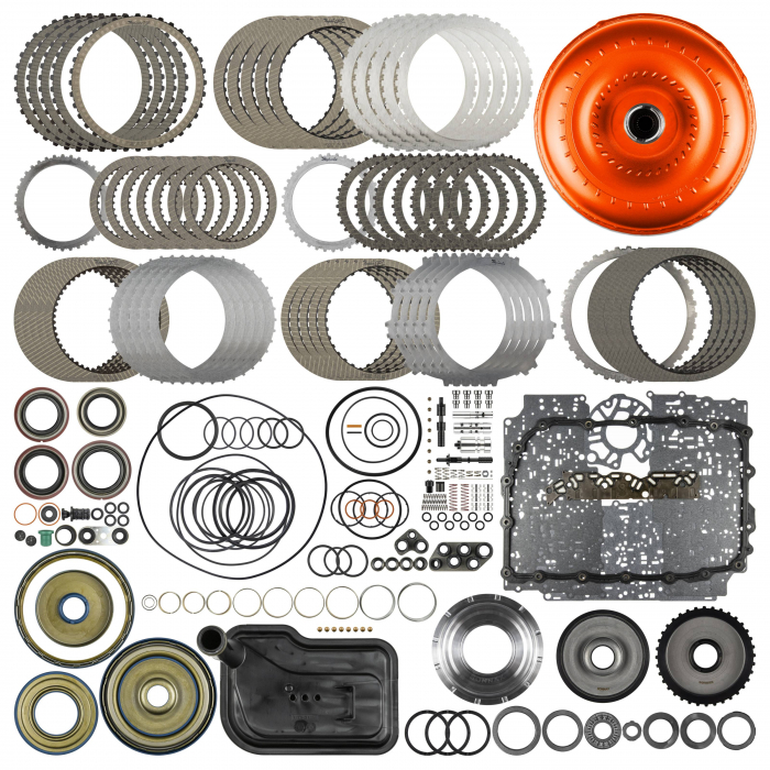 SunCoast 6L80E Category 2 Raybestos Rebuild Kit with Converter