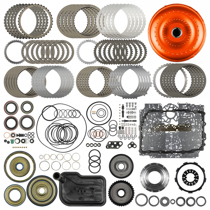 SunCoast 6L80E Category 3 Raybestos Rebuild Kit with Converter