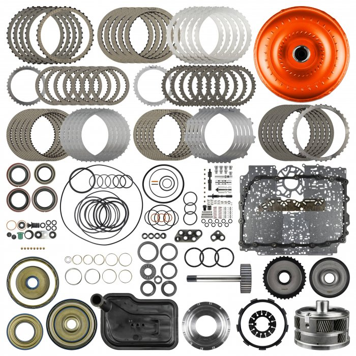 SunCoast 6L80E Category 5 Raybestos Rebuild Kit with Converter