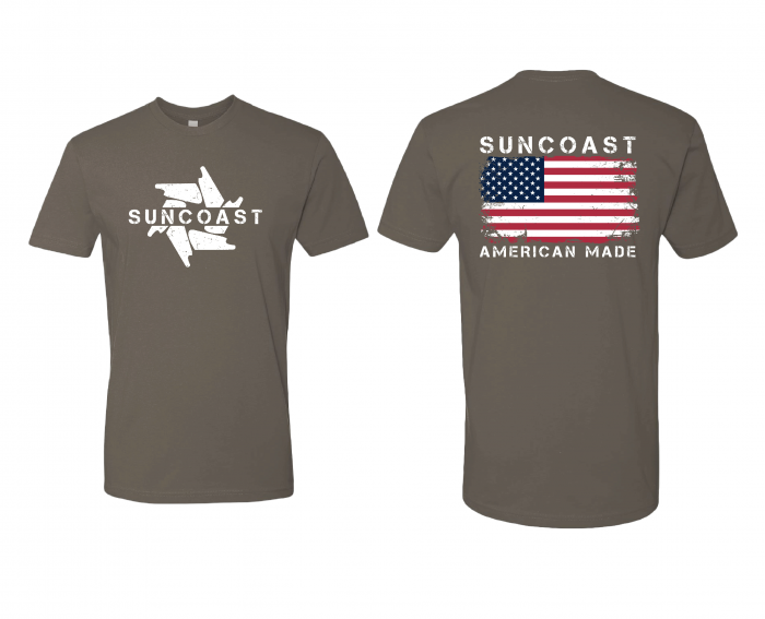 SunCoast Diesel - NEW! SunCoast American Made Flag Shirt