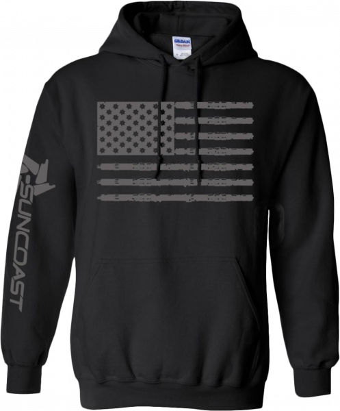 Flag Pull over Hoodie