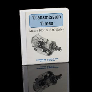 GM DURAMAX - 1000/2000 LCT - SunCoast Diesel - ALLISON TECH MANUAL