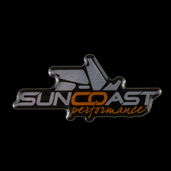 Miscellaneous - Gel Decals - SunCoast Diesel - SUNCOAST GEL DOOR BADGES (PAIR)