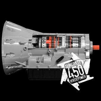 FORD POWERSTROKE - 6R140 - SunCoast Diesel - CATEGORY 1 SUNCOAST 450HP HEAVY DUTY 6R140 TRANSMISSION