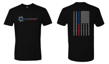 Apparel - SunCoast Swag - SunCoast Diesel - SUNCOAST THIN BLUE/RED LINE T-SHIRT