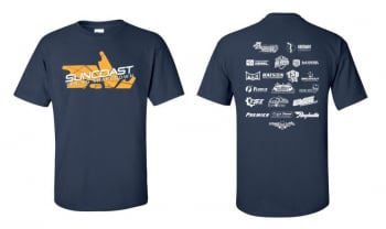 SunCoast Swag - Mens Apparel - SunCoast Diesel - SUNCOAST 2019 SPRING SHAKE DOWN EVENT T-SHIRT