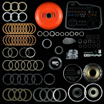 DODGE CUMMINS - 68RFE - 68RFE CATEGORY 2 REBUILD KIT WITH TORQUE CONVERTER