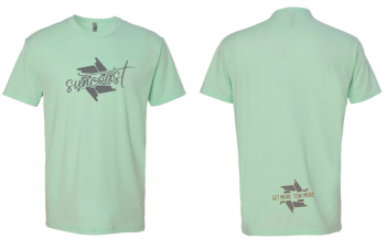 SunCoast Swag - Womens Apparel - SunCoast Diesel - NEW! 2020 LADIES MINT GREEN SHIRT