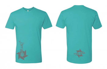 SunCoast Swag - Womens Apparel - SunCoast Diesel - NEW! 2020 LADIES TEAL BLUE SHIRT