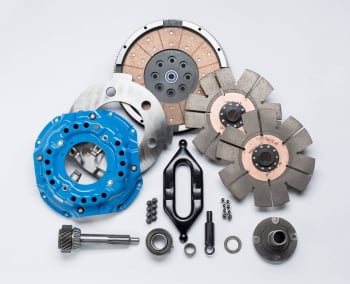 Clutches - Clutch Kits - South Bend Clutch - SOUTH BEND CLUTCH DDC3600-5K, COMP DUAL W/ 1.375