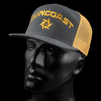 SunCoast Swag - SunCoast Caps - SunCoast Diesel - ARCHED LOGO SNAPBACK (4 COLORS)