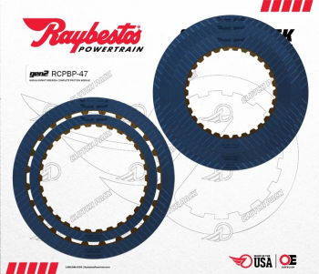 Rebuild Kits - Nissan - RAYBESTOS RE5R05A V6 GEN2 BLUE PERFORMANCE FRICTION CLUTCH PACK